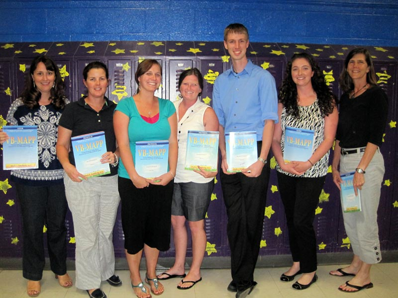 NNRSEP preschool teachers after receiving training in the VB MAPP from ACE 